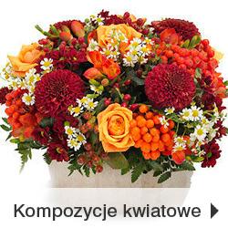 Kompozycje kwiatowe Poczta Kwiatowo-Upominkowa