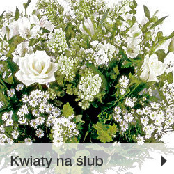 Kwiaty na ślub Poczta Kwiatowo-Upominkowa