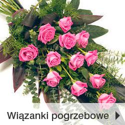 Wiązanki wieńce pogrzebowe Poczta Kwiatowo-Upominkowa