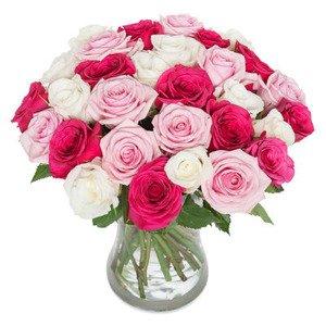 """Bukiet """"Pastelowe róże"""""""
