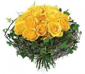 Bukiet żółtych róż- Podziękowanie - Gdańsk