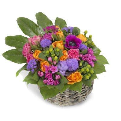kompozycja barwna kwiaty kompozycje kwiatowe okazje imieniny